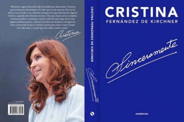 El libro de Cristina, que se agotó en Buenos Aires, llegaría mañana a Rosario