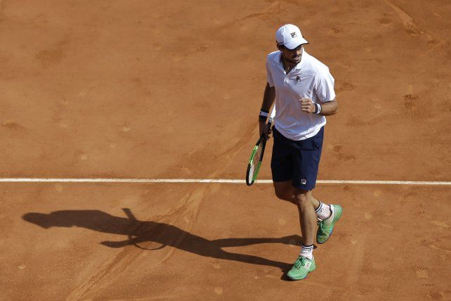 Tenis: Pella se copó y se metió entre los mejores del torneo