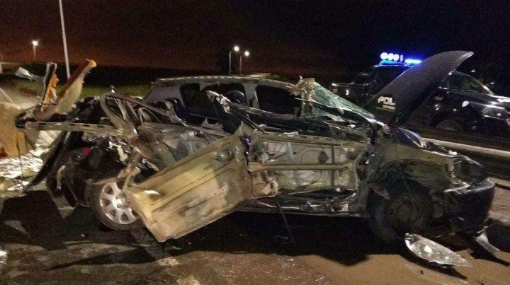 El accidente se produjo cerca de San Lorenzo
