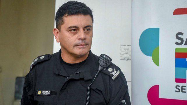 El jefe de la Unidad Regional II brindó detalles de la detención.