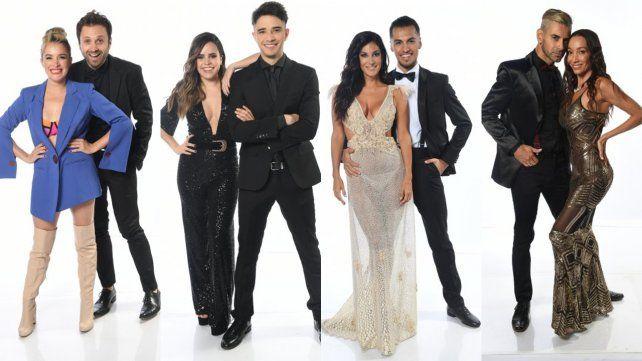 Una por una, las 16 parejas que participarán del Bailando
