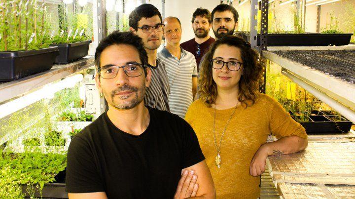 Biotecnología. El grupo de investigadores argentinos a cargo del desarrollo.