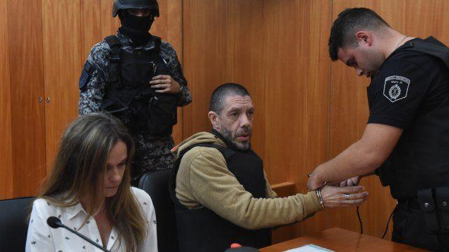 Ante la justicia. Albertengo está detenido en Piñero y su fisonomía ha cambiado mucho en los últimos años.