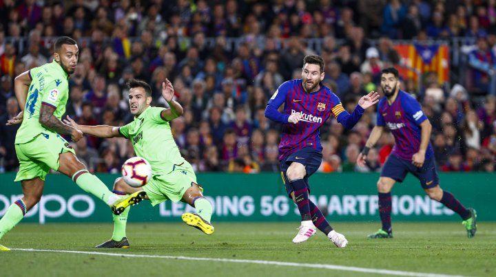 De la mano de Messi, Barcelona gritó otra vez campeón