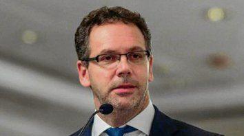 Cascoteado. El presidente del Banco Central, Guido Sandleris.