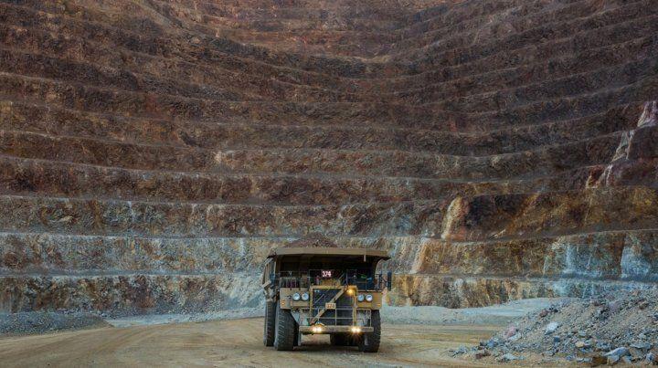 A cielo abierto. La mina aurífera de Veladero