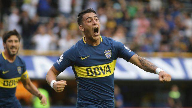 Un 7 bravo. Pavón volverá a ser titular hoy contra Godoy Cruz en Mendoza.