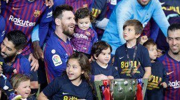La 10 del 10: Messi sumó otra Liga a su palmarés