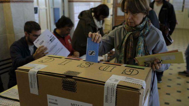 La votación se desarrollaba sin sobresaltos.