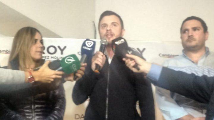 López Molina: Conseguimos un piso para seguir construyendo
