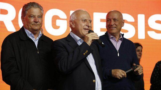Lifschitz y Bonfatti, festejaron el triunfo del Frente Progresista en la ciudad de Santa Fe