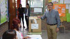 Sin obstáculos. Armando Traferri se impuso por el 54% sobre el resto.