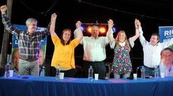 Confirmado. El equipo de trabajo de Alberto Ricci, quien arrasó en las urnas en Villa Gobernador Gálvez.