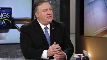 El secretario de Estado norteamericano, Mike Pompeo.