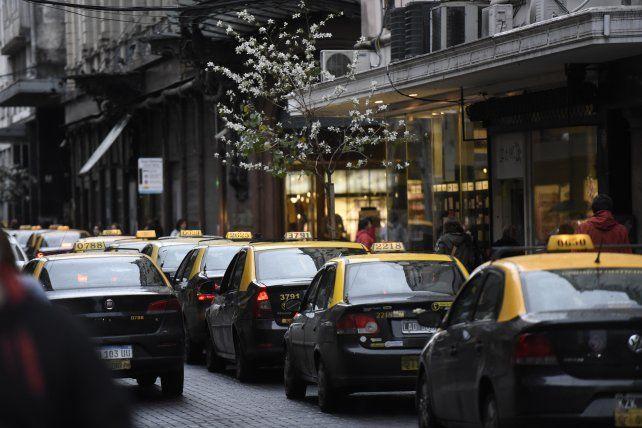 Los taxistas vuelven a la carga con su reclamo de mayor seguridad
