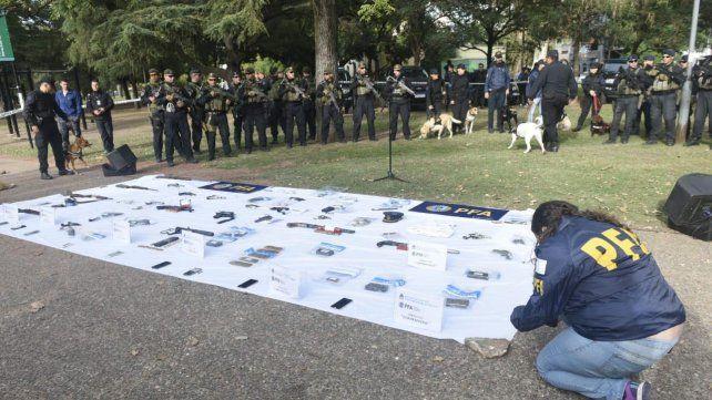 La Policía Federal realizó 40 allanamientos por las balaceras contra el Poder Judicial