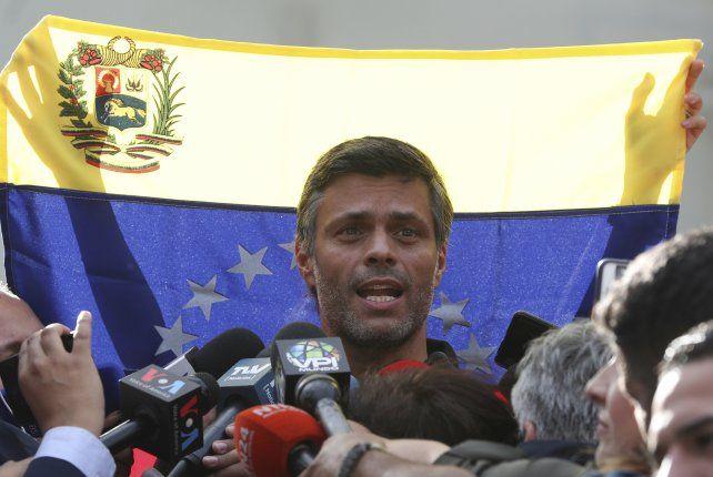 España protege al refugiado Leopoldo López
