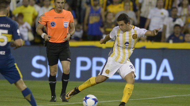 Maxi Lovera será titular esta noche en Mendoza ante Boca. (Foto de archivo)