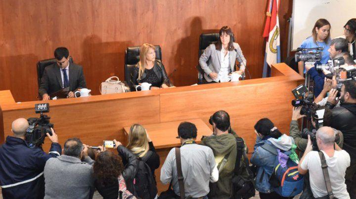 Griselda Strólogo presidió el Tribunal conformado por Mariel Minetti y Alavro Campos.