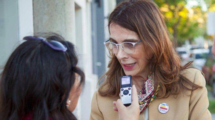 La exprecandidata a gobernador por Encuentro por Santa Fe