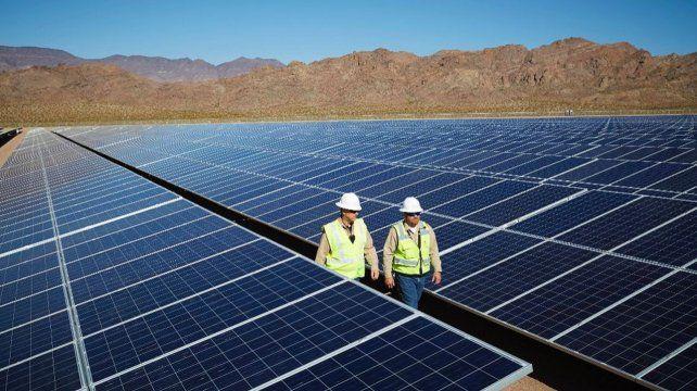 Paneles fotovoltaicos. Cauchari I