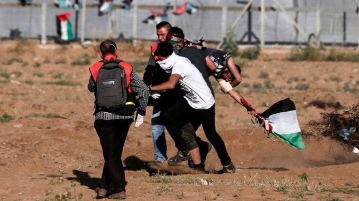 Hamas lanzó más de 250 cohetes contra Israel