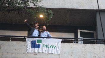 Sueño cumplido. Hace pocos días, Pilay entregó el edificio Bauen 118 en Catamarca 1736.