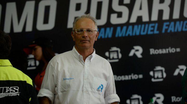Todo ok. Salazar quedó conforme con el rendimiento de la pista con el paso histórico del Turismo Carretera.