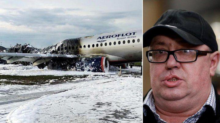De terror. Dimitry Khlebushkin se preocupó por sacar su mochila y sólo se salvaron tres pasajeros del fondo.