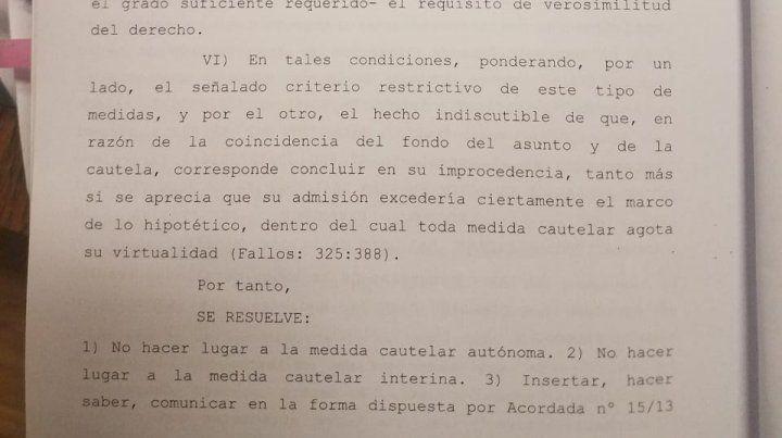 La Justicia rechazó una cautelar y este miércoles será la elección de decano en Arquitectura