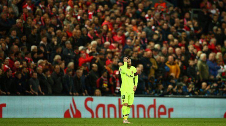 Messi no puede creer lo que está viviendo. Su postura lo dice todo: Barcelona se quedó afuera de la final.