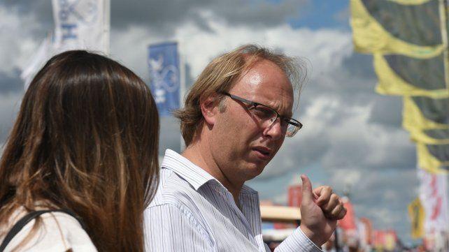Saglione remarcó que Santa Fe es perjudicada por el reparto de fondos coparticipables.
