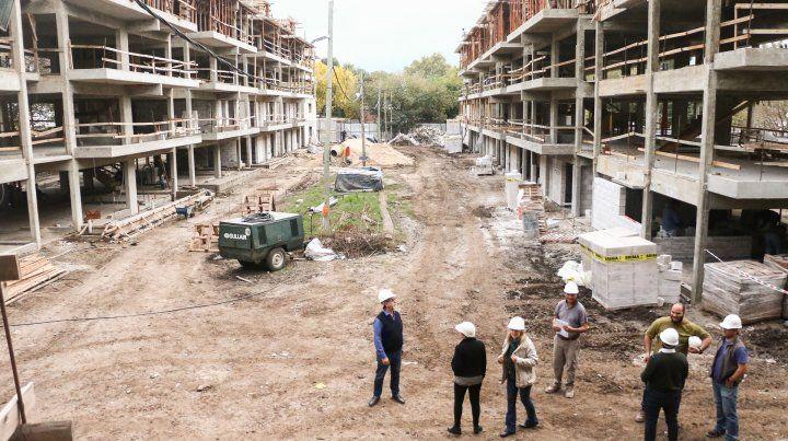 Las obras del barrio República de la Sexta ya tienen 35 por ciento de avance