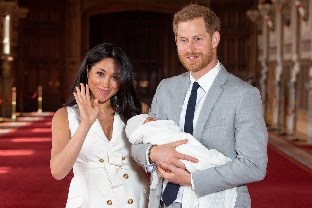 Meghan y el príncipe Harry presentaron a su bebé, Archie