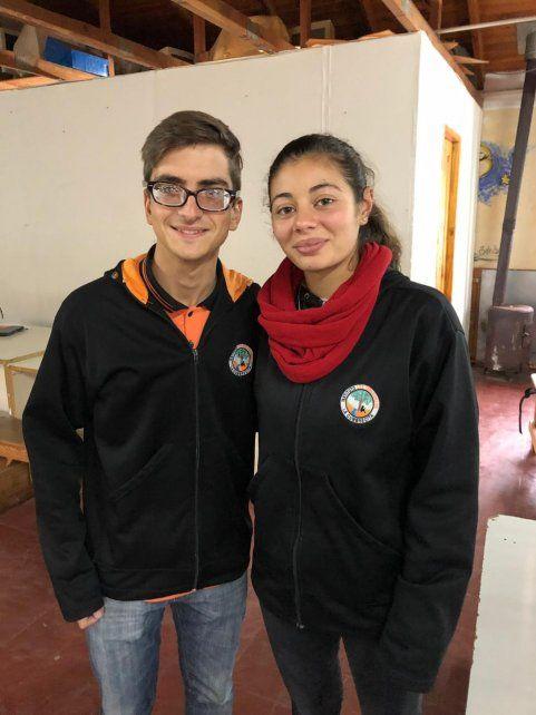 Lautaro Parisi y Anna Lancellotta