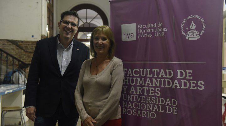 El decano José Goity y la profesora Liliana Sanjurjo integran el comité organizador del congreso.