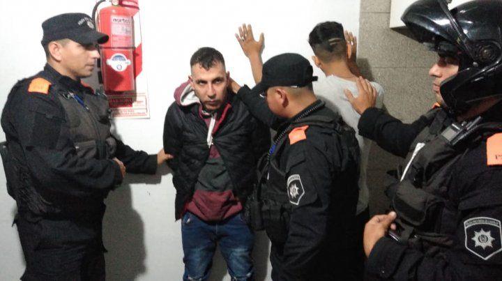 Quiroz fue detenido esta noche por la Policía Comunitaria en la zona de Valparaíso y Virasoro.