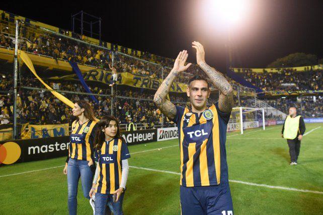 Orgulloso de haber nacido en este club, se despidió Herrera