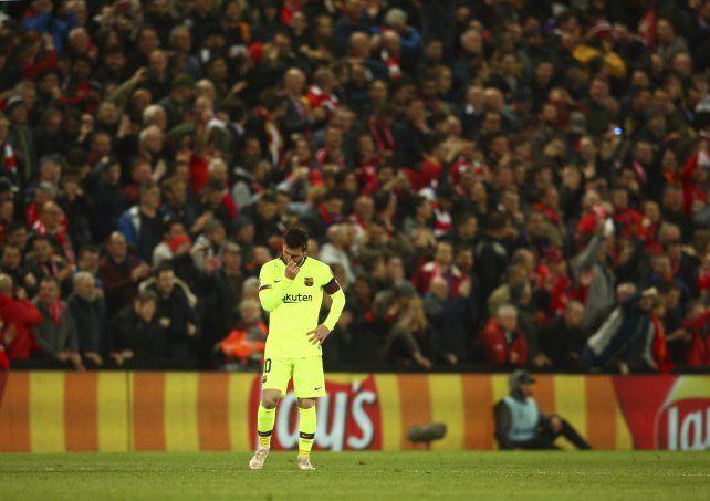 Hay cosas que Messi no puede dar