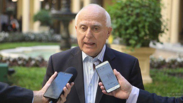 Lifschitz dijo que la del excomisario Druetta fue una detención de campaña