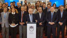 lifschitz suspendio la consulta por la reforma de la constitucion