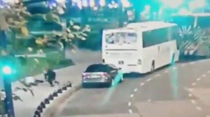 Un  video muestra el ataque a Olivares