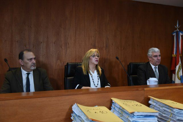 El tribunal está integrado por los jueces Marcela Canavesio