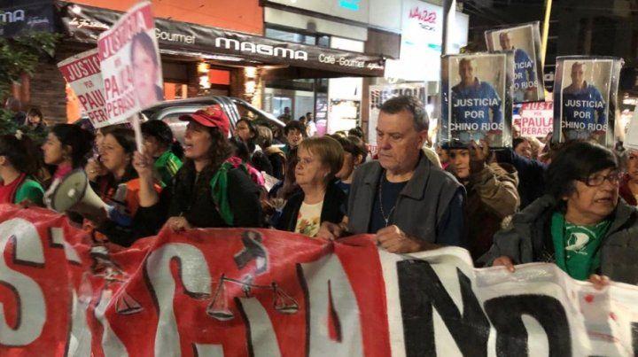 Una marcha masiva volvió a reclamar por Paula Perassi en San Lorenzo