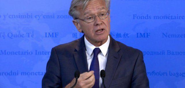 El FMI no estudia renegociar el acuerdo con la Argentina