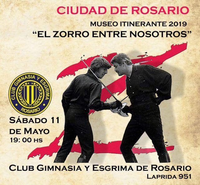Esgrima: Muestra itinerante del Zorro
