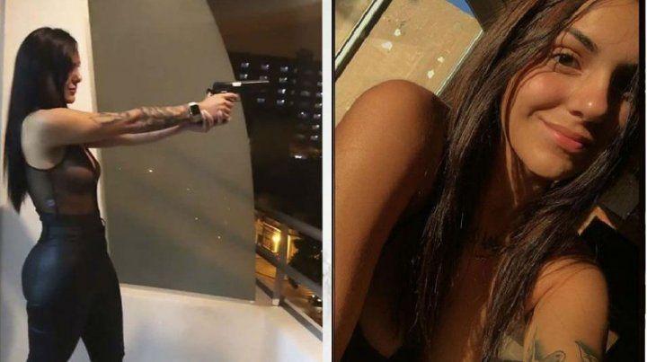Liberan a la pistolera que disparó desde el balcón de su departamento