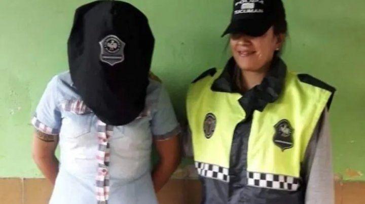 La policía detuvo a la mujer y la puso a disposición de la Justicia de Santiago del Estero.