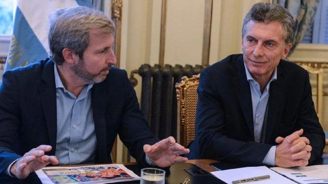 Ratificación. Rogelio Frigerio no tiene dudas de que Macri será el candidato presidencial de Cambiemos para octubre.