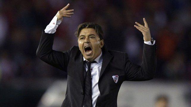 Dudas. Gallardo tiene dudas en el medio: De La Cruz o Palacios y Zuculini o Ponzio.